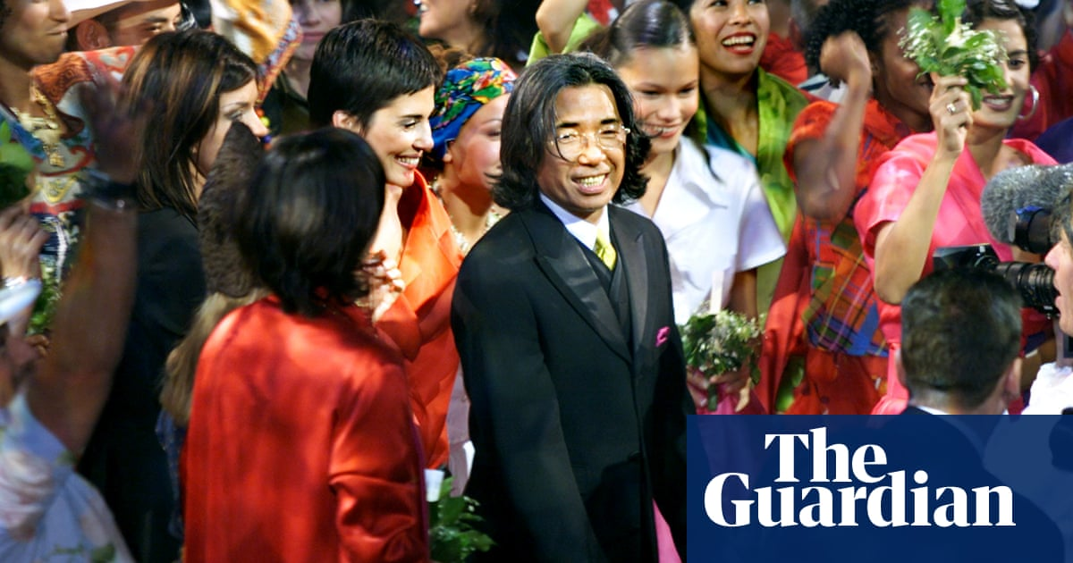Kenzo Takada remembered for style that meant 'freedom for the woman's body' – The Guardian