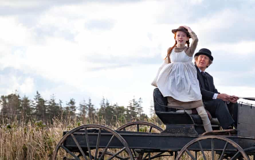 A tale of dry wit and tenderness … Amybeth McNulty as Anne and RH Thomson as Matthew.
