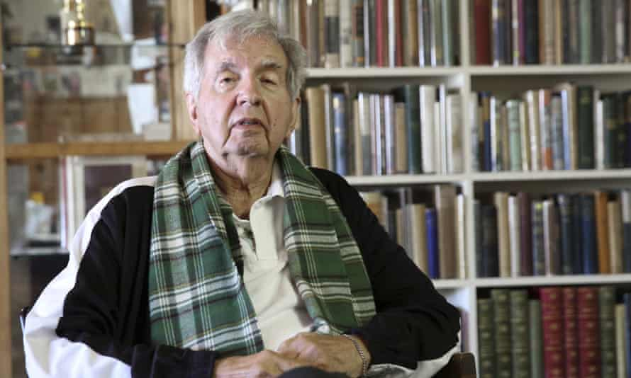 Larry McMurtry in 2014 at his bookshop in Archer City, Texas.