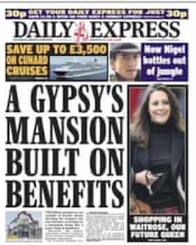 Daily Express, 23 November 2010.
