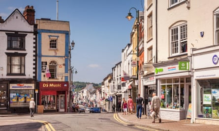 Monnow Street, Monmouthshire