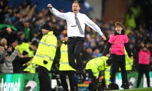 Duncan Ferguson's enthusiasm has rubbed off on Everton's players.