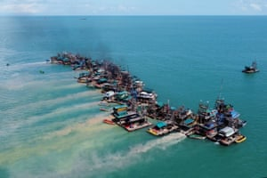 In a statement, Timah said it communicates with fishing communities to improve their catch, adding it had built artificial reefs to help restock the sea in line with regulations