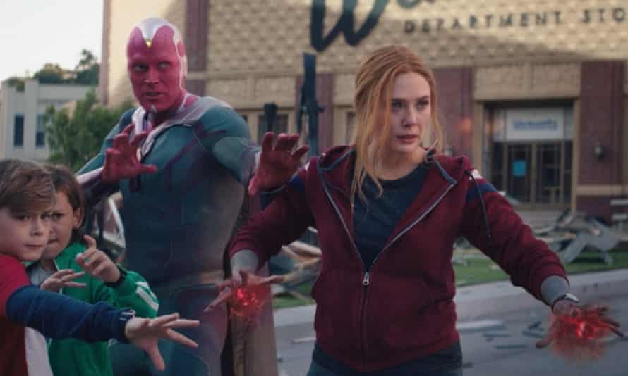 WandaVision finale: the Scarlet Witch arrives, will the MCU survive?    Television & radio   The Guardian