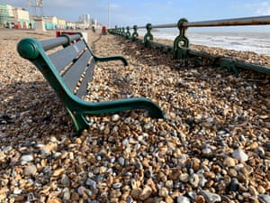Pebble dashed, Brighton, East Sussex, England, 17 February