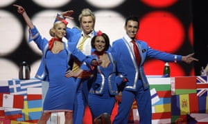Scooch, who represented the UK at Eurovision in 2007.