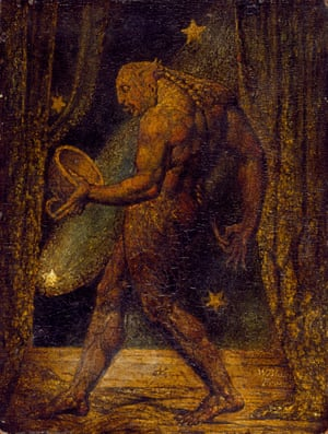 The Ghost of a Flea, c 1819, by William Blake.