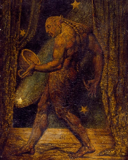 Blake's The Ghost of a Flea (c1819) depicts 'the transposed soul of a murderer'.