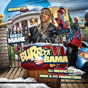 Hevehitta presents Gucci Mane - Burrock Obama - Design by Kid Eight