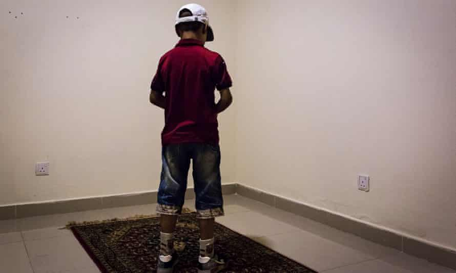 Nine-year-old Mohammed: 'He wasn't a normal boy – he didn't seem scared.'