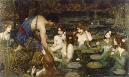 John William Waterhouse's Hylas and the Nymphs (1896). Courtesy Manchester City Galleries.