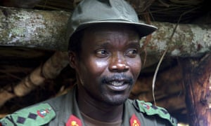 Joseph Kony, pictured in 2006 in northern Uganda