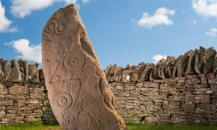 The Serpent Stone at Aberlemno
