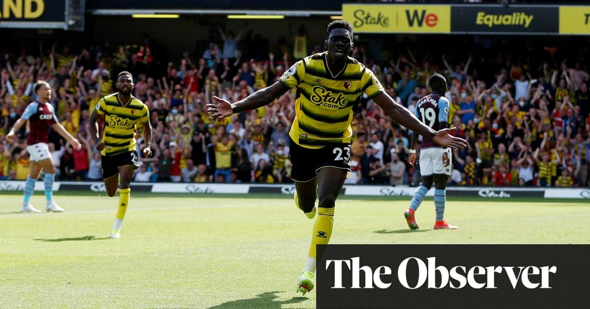 Sarr and Dennis inspire Watford to sparkling win over Aston Villa