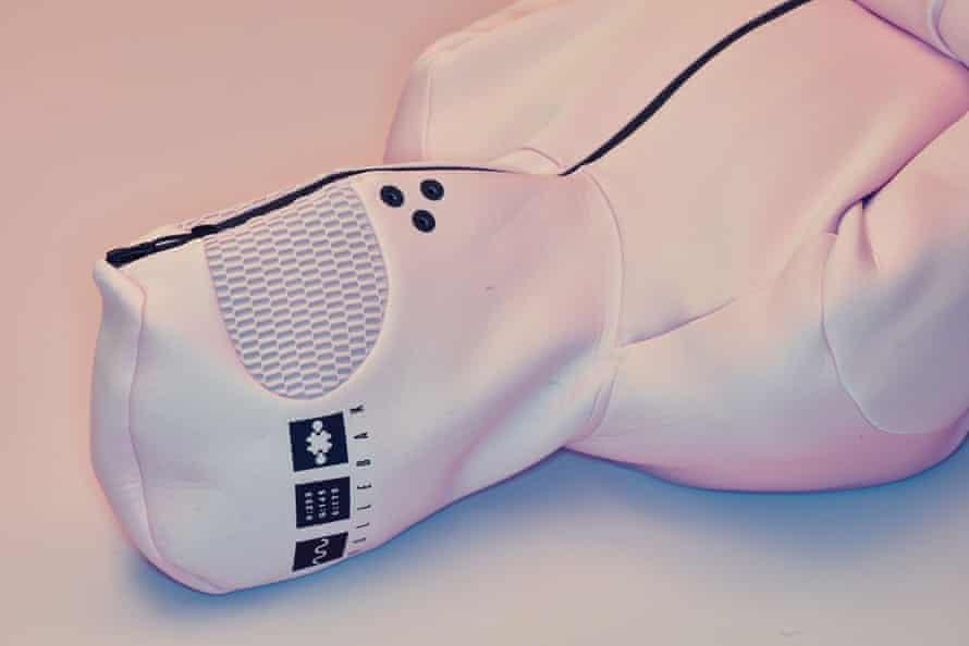 Vollebak Baker-Miller Pink hoodie.