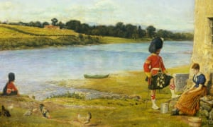 Flowing to the Sea, 1871, by John Everett Millais.