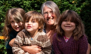 Grandparents and grandchildren reunited after people living alone in England formed support bubbles with other households.