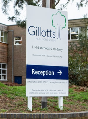 Gillotts is among the quarter of schools that do not believe their buildings are in a good state of repair.