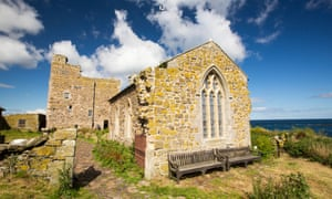St Cuthberts Chapel on Inner Farne, in the Farne Islands, Northumberland, UK