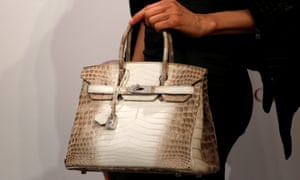 Nobody should ever be in possession of a Hermès handbag if they can't even spell 'handbag'.