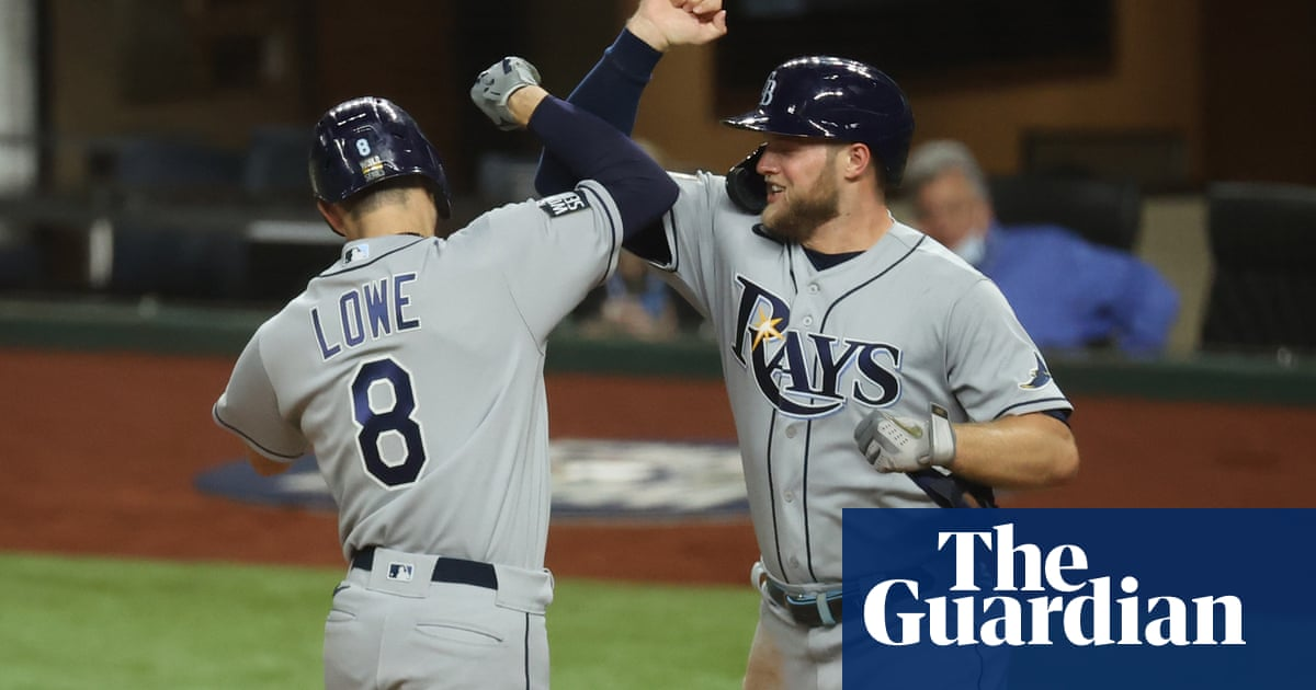 Rays strike back against Dodgers in Game 2 to level World Series