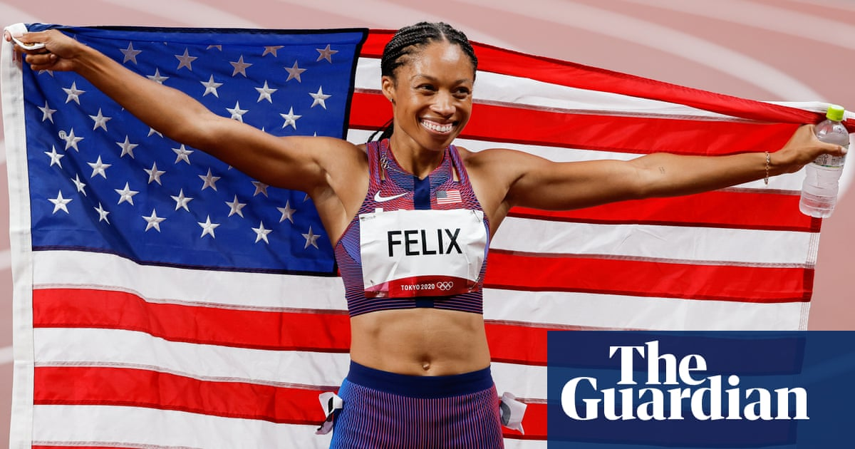 Allyson Felix is most decorated Olympic female track athlete after 400m bronze
