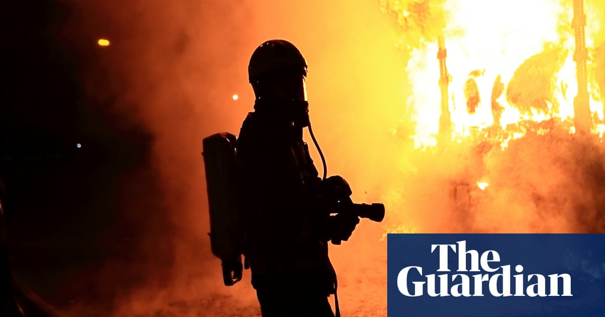 4629de3e15 The life of Britain's firefighters: 'My helmet melted around my head ...