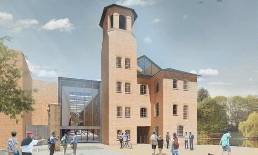Derby Silk Mill Museum of Making  CGI