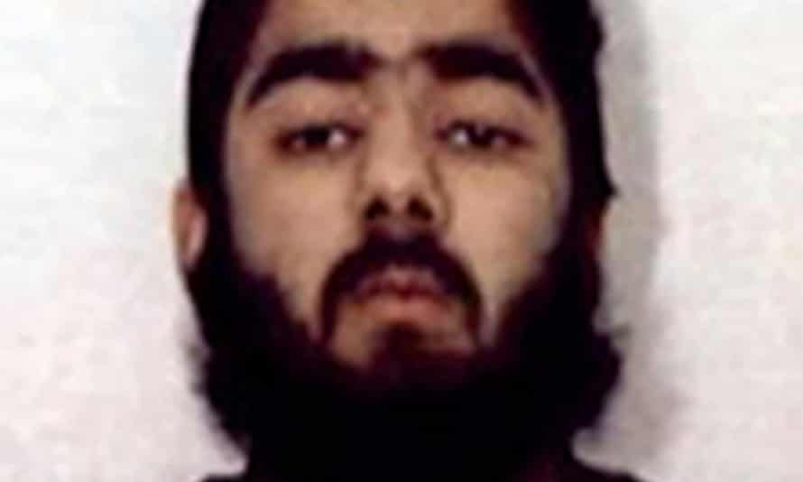 Undated handout photo of Usman Khan issued by West Midlands police.