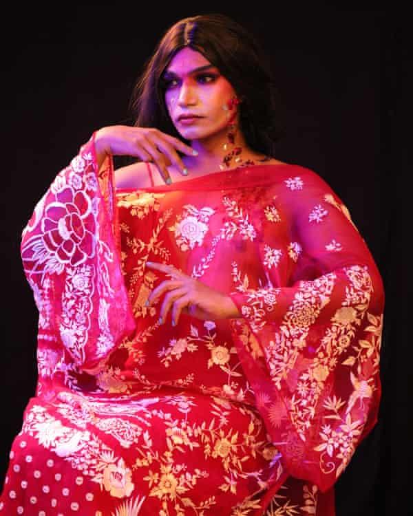 Hiten Noonwal, a performance artist from Delhi.