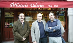 Robert, Enzo and Victor Scalzo, who sold the business to Luke Johnson.