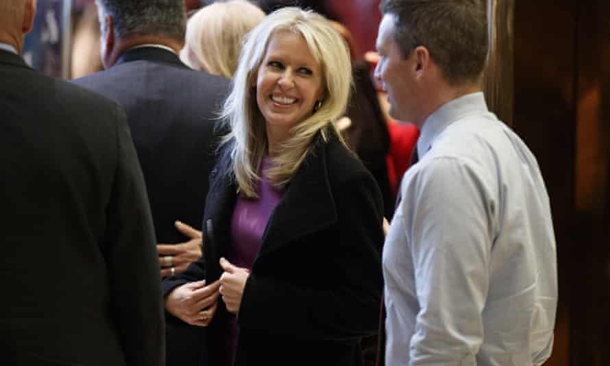 Monica Crowley in the lobby of Trump Tower. Last week Harper Collins removed the digital editions of her book from sale.