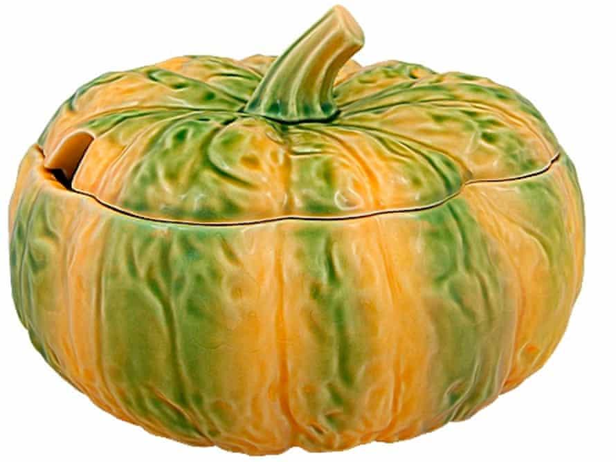 Pumpkin tureen.