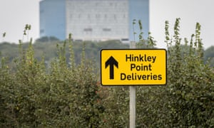 Sign for Hinkley Point