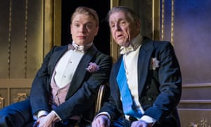 One of the play's chief delights … Freddie and Edward Fox.