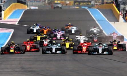 F1 C More