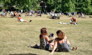 'Exposing lower arms and legs during warm weather will further optimise a good supply of vitamin D,' write Ann Webb and Lesley Rhodes.