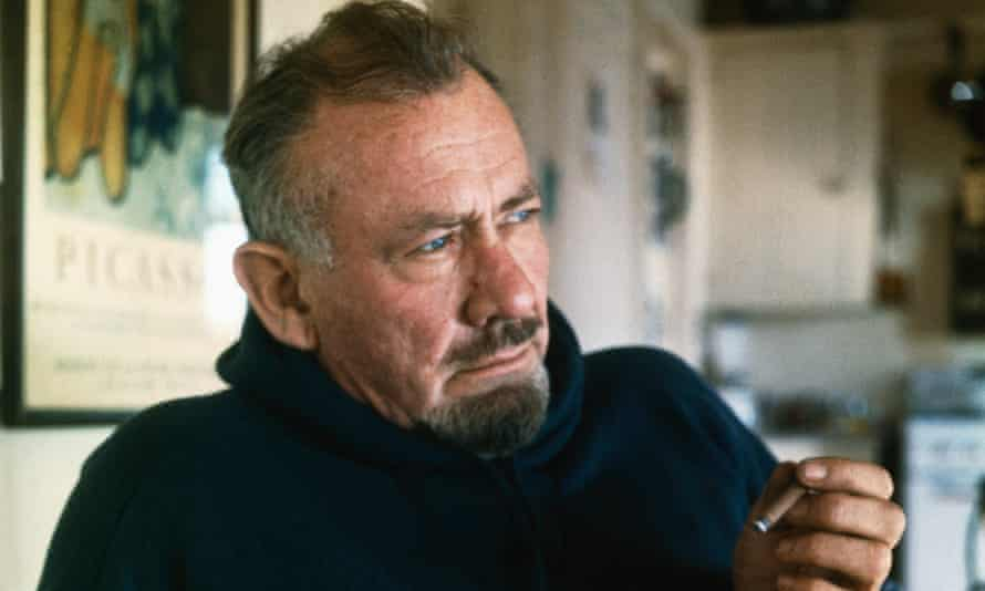 John Steinbeck pictured in 1962, the year he won his Nobel prize.