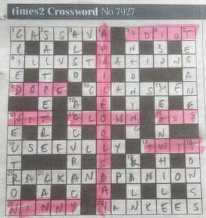 Times 2 crossword 7,927