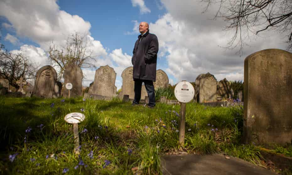 Gary Burks, manager of City of London Cemetery and Crematorium in East London