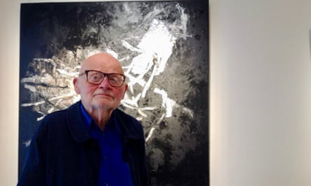 """'My paintings have not been """"about"""" something outside themselves,' Klaus Friedeberger said. 'I want them to have a presence with a convincing reality of their own'"""