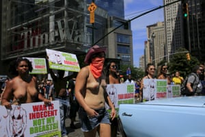GoTopless Day Parade