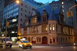 Firehouse, Engine Company 31 in lower Manhattan.