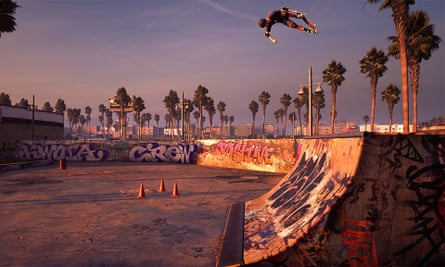 Flipping the formula ... Tony Hawk's Pro Skater.