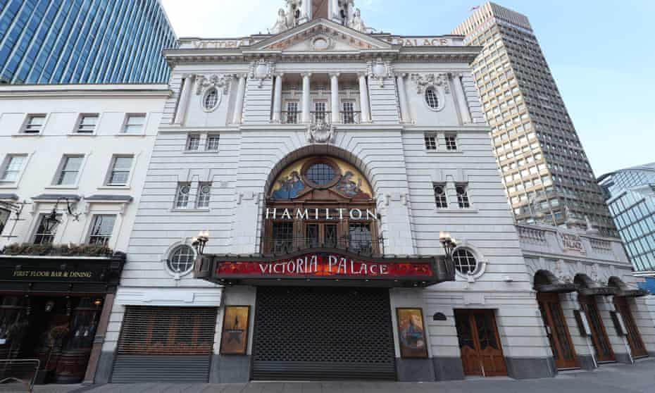 Victoria Palace theatre in London
