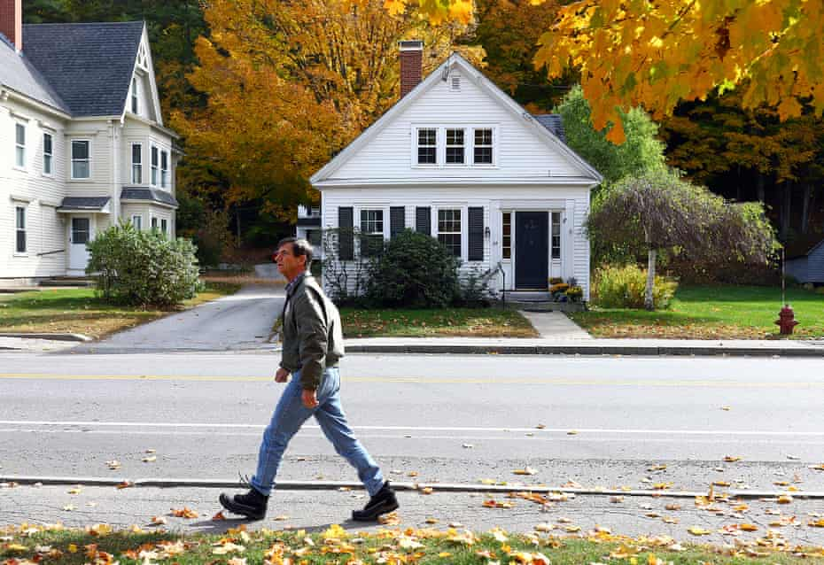 Sestak is planning to cover 105 miles (169km) in eight days as he campaigns in New Hampshire.