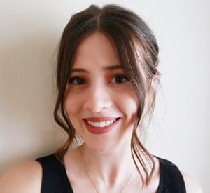 Headshot of fashion student Taz Dorodi