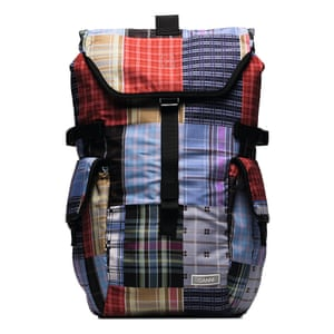 Patchwork backpack, £160, ganni.com