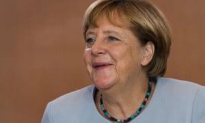 Angela Merkel is under pressure over her open-door policy