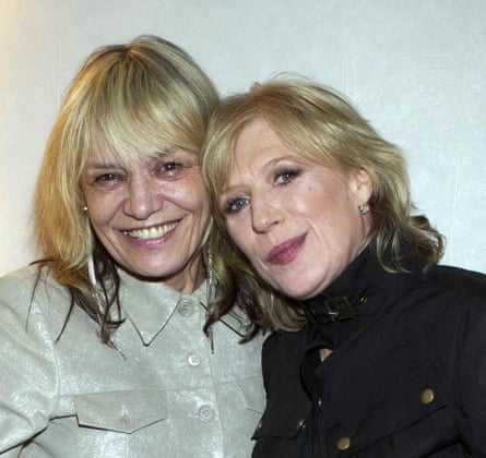 Anita Pallenberg and Marianne Faithful, London, 2002